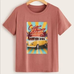 California dreaming T-shirt new and cute